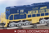 American Flyer Diesel Locomotives