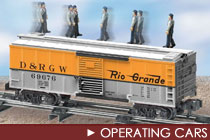 S Scale Operating Cars