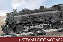 S Scale Steam Locomotives