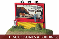 O Scale Accessories and Buildings