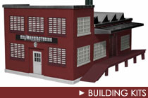O Scale Building Kits