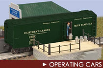 O Scale Operating Cars