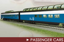 O Scale Passenger Cars