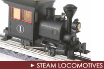 K-Line Steam Locomotives