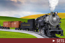 O Scale Train Sets