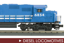 MTH Diesel Locomotives