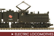 O Scale Electric Locomotives