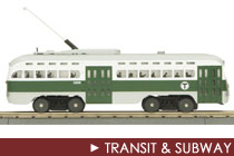 O Scale Transit &amp; Subway