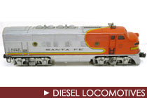 Postwar Era Diesel Locomotives