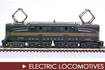 Postwar Era Electric Locomotives
