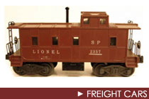Postwar Era Freight Cars