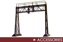 G Scale Accessories and Buildings