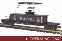 G Scale Operating Cars