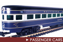 G Scale Passenger Cars