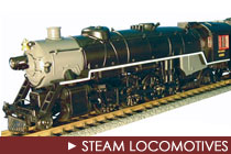 G Scale Steam Locomotives