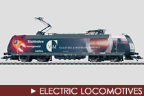 HO Scale Electric Locomotives