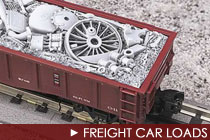 O Scale Freight Car Loads