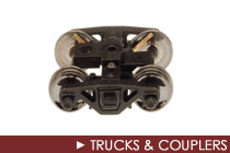 O Scale Trucks &amp; Couplers