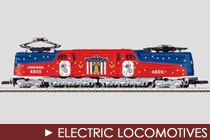 Z Scale Electric Locomotives