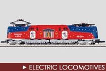 Z Scale Electric Locomotives