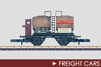 Z Scale Freight Cars